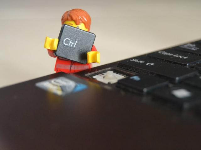 Lego man keyboard